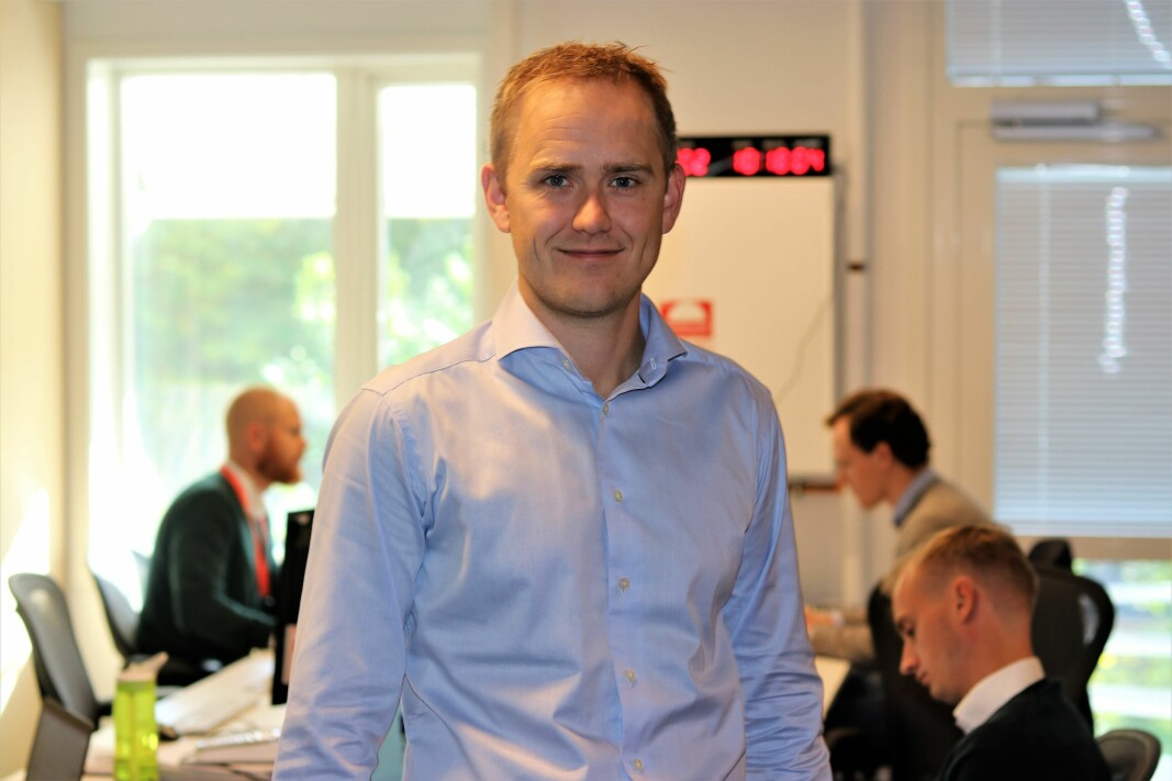 Gründer og daglig leder i FundingPartner, Geir Atle Bore.