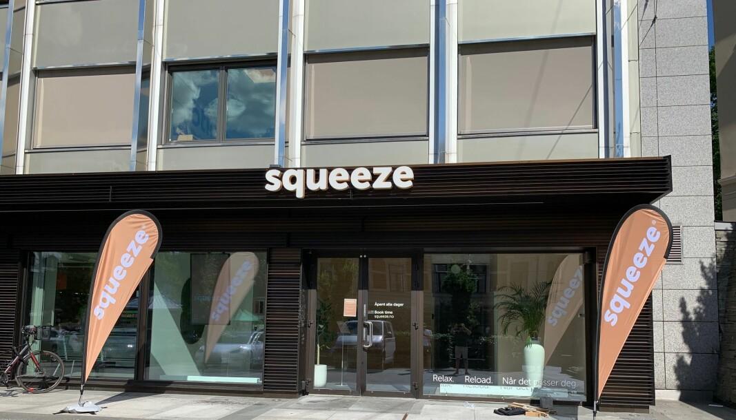 Squeeze har hittil holdt seg på det sentrale Østlandet. Nå er planen å utvide til flere store, norske byer.