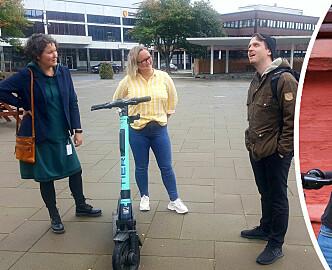 Når småby leker storby: Det virker ikke som aktørene i sparkesykkel-prosjektet i Namsos har skjønt at de ikke er i Oslo