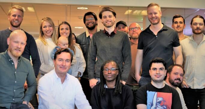 Store deler av Portal One-teamet. Flere ble med over fra The Future Group.