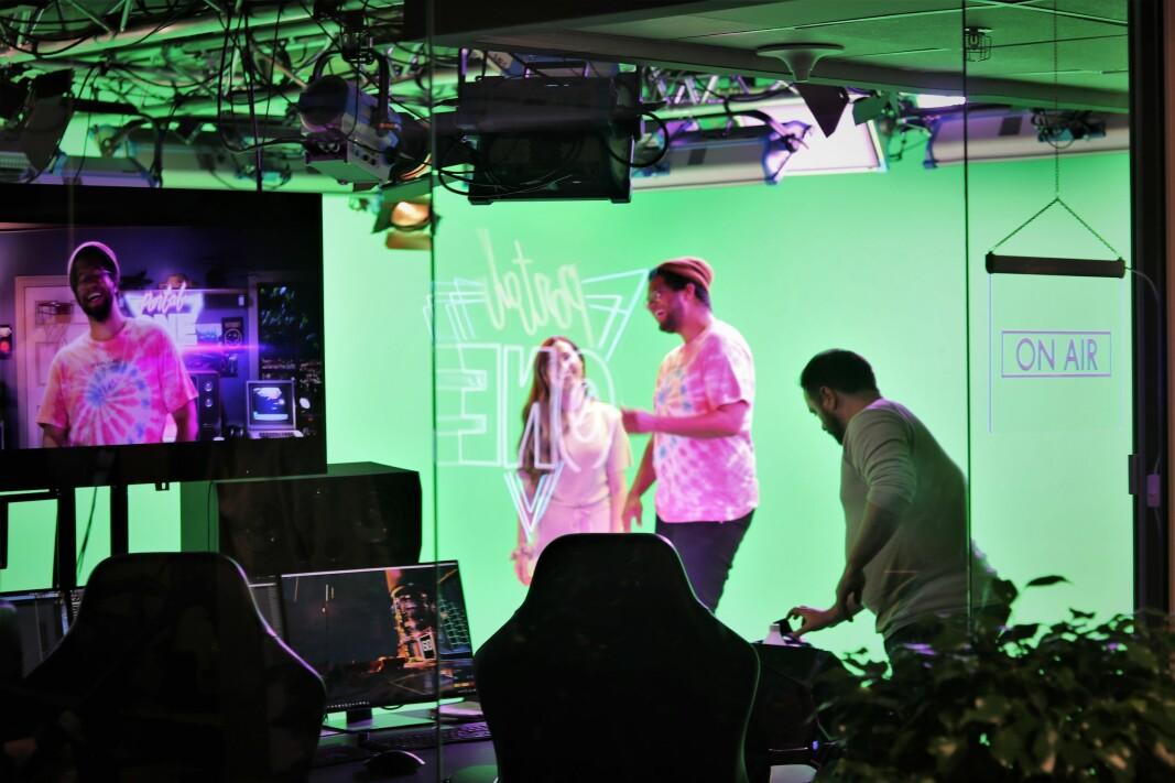 TV-profil Markus Bailey leder sendingene i Portal One.