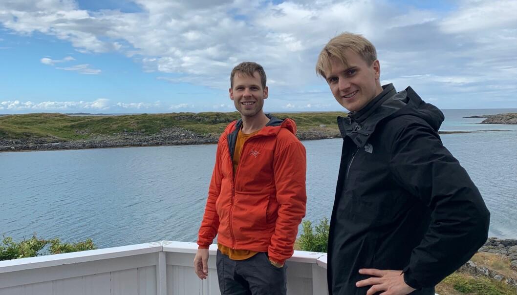 Mats Julian Olsen og Fredrik Haga i Dune Analytics.