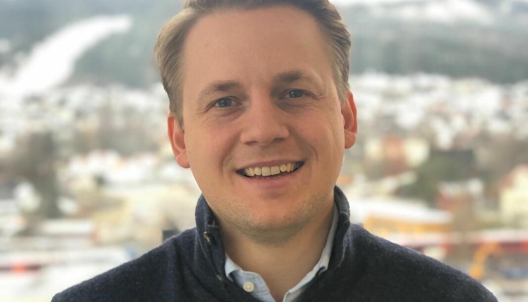 Daglig leder i Vibb, Erik Berg Solheim.