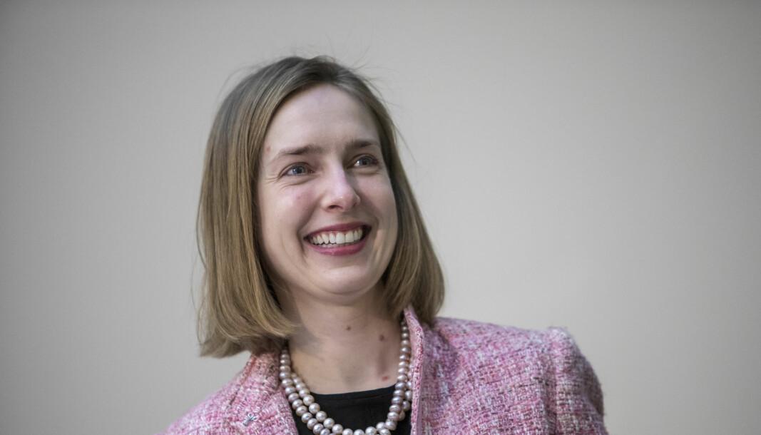 Næringsminister Iselin Nybø (V) sier norske bedrifter har vært tydelige overfor henne på at Norge må bli med i EUs forskningsprogram.