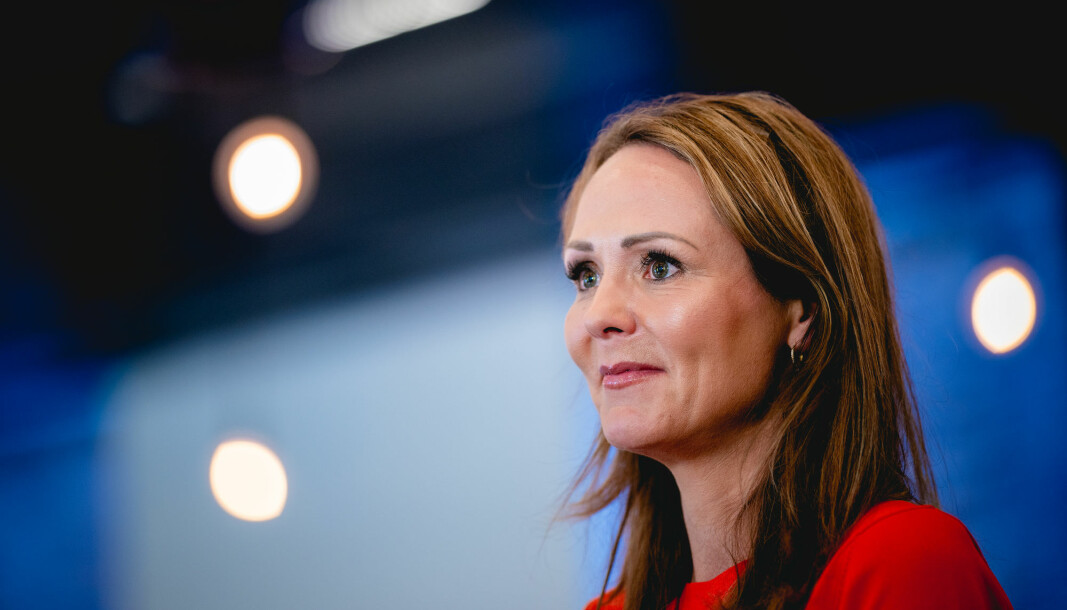 Distrikts- og digitaliseringsminister Linda Hofstad Helleland.