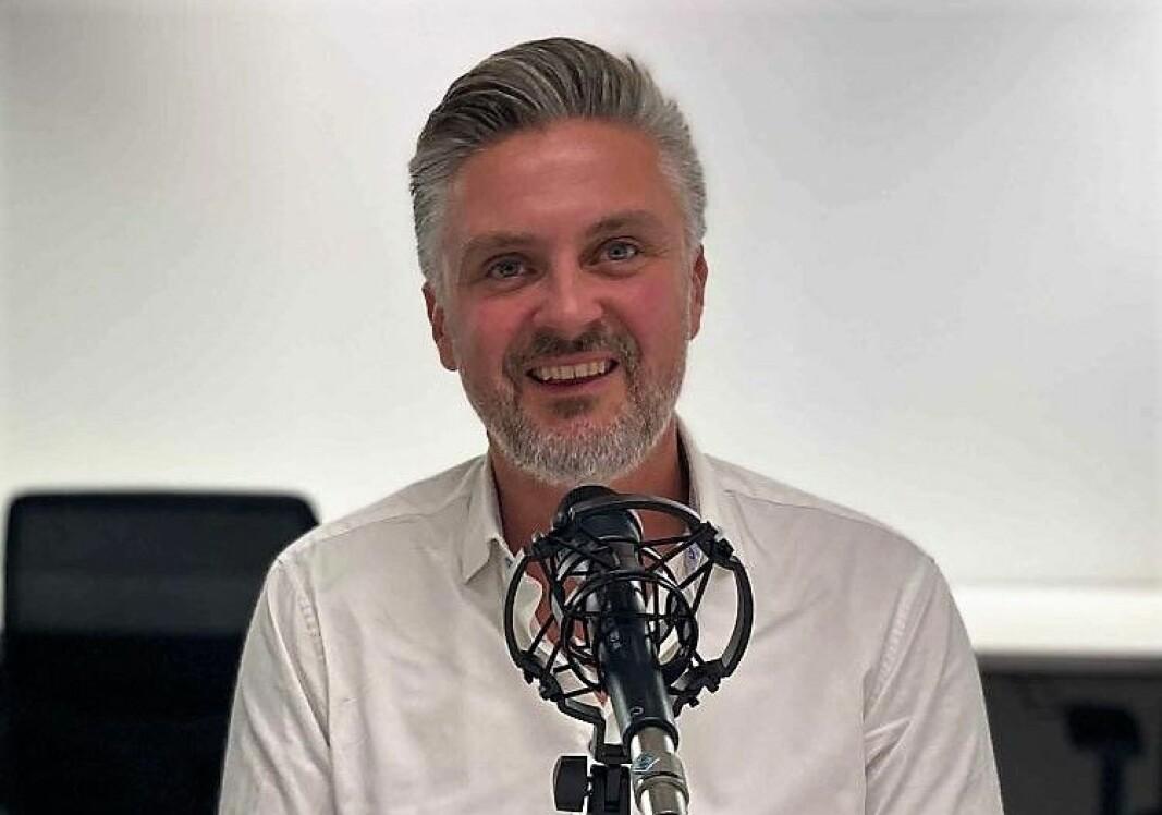 Daniel Döderlein gründet mCash, som senere fusjonerte med Vipps.
