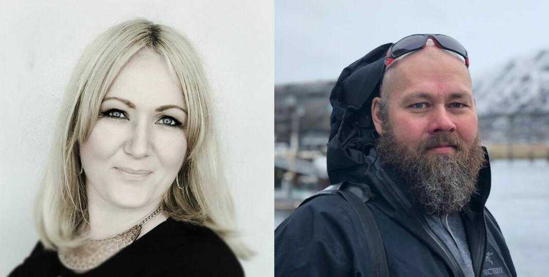 Silje Vallestad og Frank Cato Lahti satser sammen.