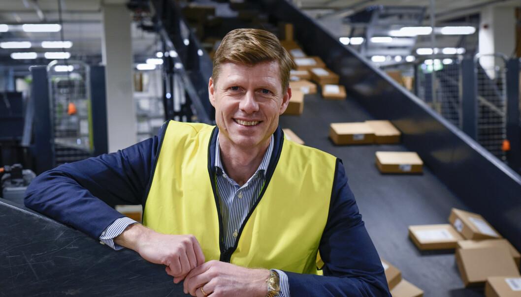 Per Öhagen er konserndirektør for divisjon E-handel og logistikk i Posten og Bring.