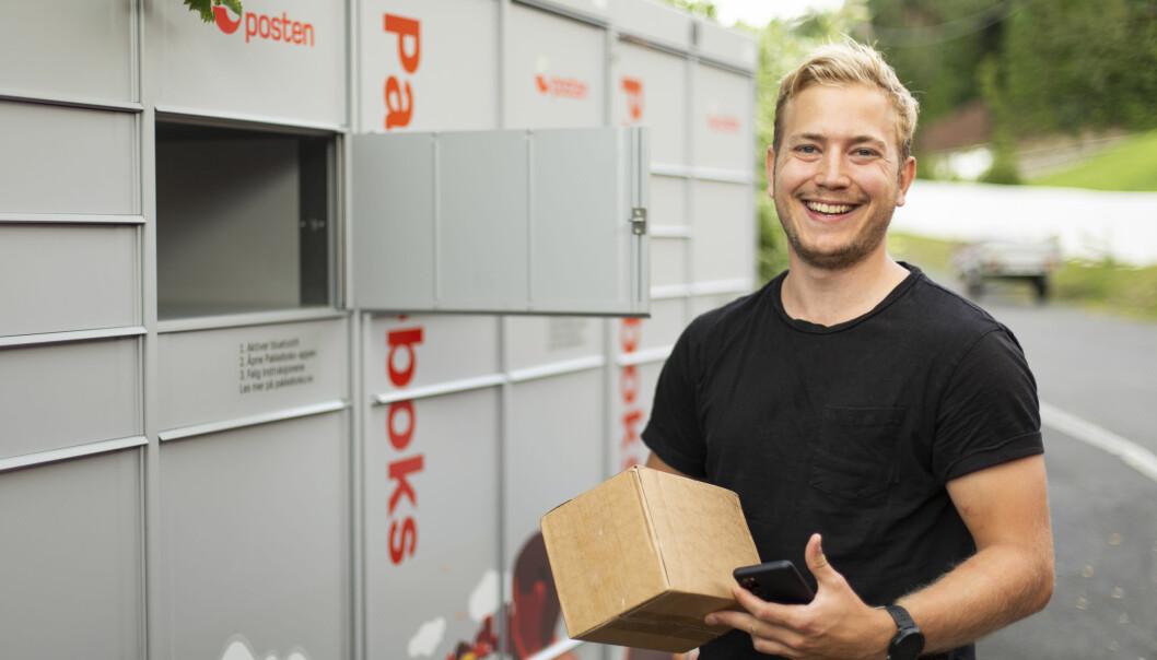 I løpet av 2021 skal det plasseres ut 3000 slike pakkebokser.
