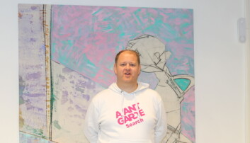 Erik Falk Hansen, gründer og daglig leder i AvantGarde Search.