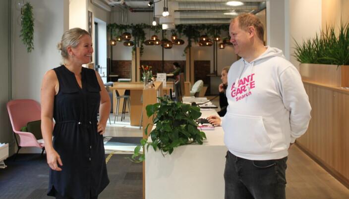 Aslaug Ingeborgrud Syvertsen i Shifter og Erik Falk Hansen i i AvantGarde Search.