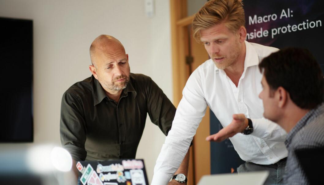 Jan Åge Skaathun og teamet i Quantfolio.