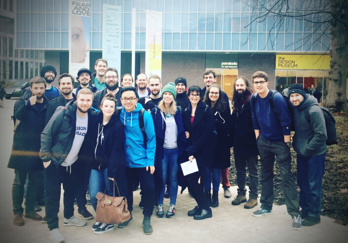 Kahoots London-team i 2017.