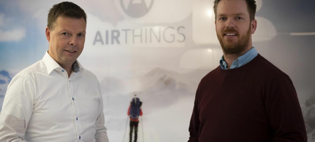 Airthings selger mer og bruker mer