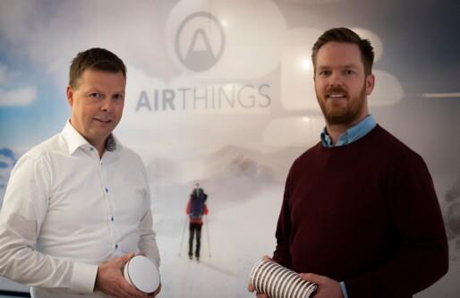 Airthings går på Merkur Market og prises til 1,79 milliarder kroner: «En sann milepæl for oss»