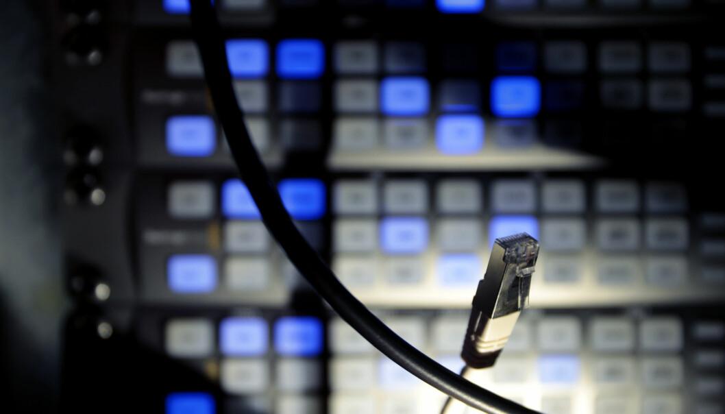 Oslo  20170628. Datakriminalitet kan regnes som kriminalitet som er rettet mot data og datasystemer, og kriminalitet hvor datautstyr benyttes som verktøy for å begå handlingen. Foto: Lise Åserud / NTB