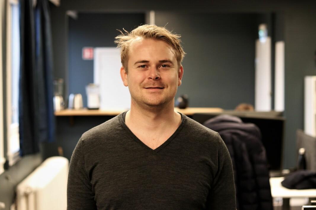Gründer Olav Willumsen Haugå i Deepinsight.