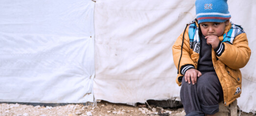 3-year-old Syrian refugee boy Ali* does not love winter. He can barely handle the cold weather in the Bekaa valley. Winter storms are hitting Lebanon. Children in the informal settlements in the Bekaa valley, the eastern side of Lebanon, are the most affected.Save the Children visited the refugees in the informal settlements in order to respond to their needs. The following pictures highlight the daily life of a Syrian child during the cold weather.