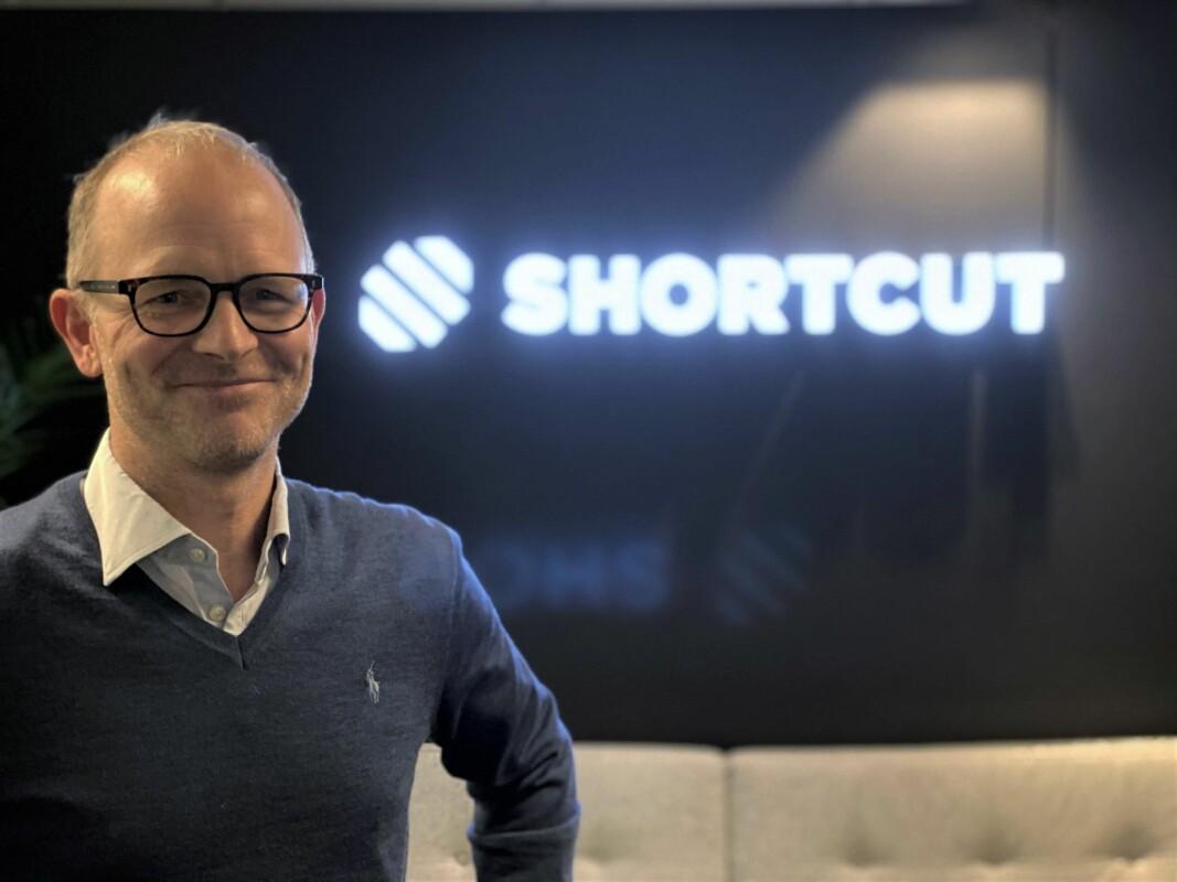 Marius Mårnes Mathiesen, CEO og gründer i Shortcut.