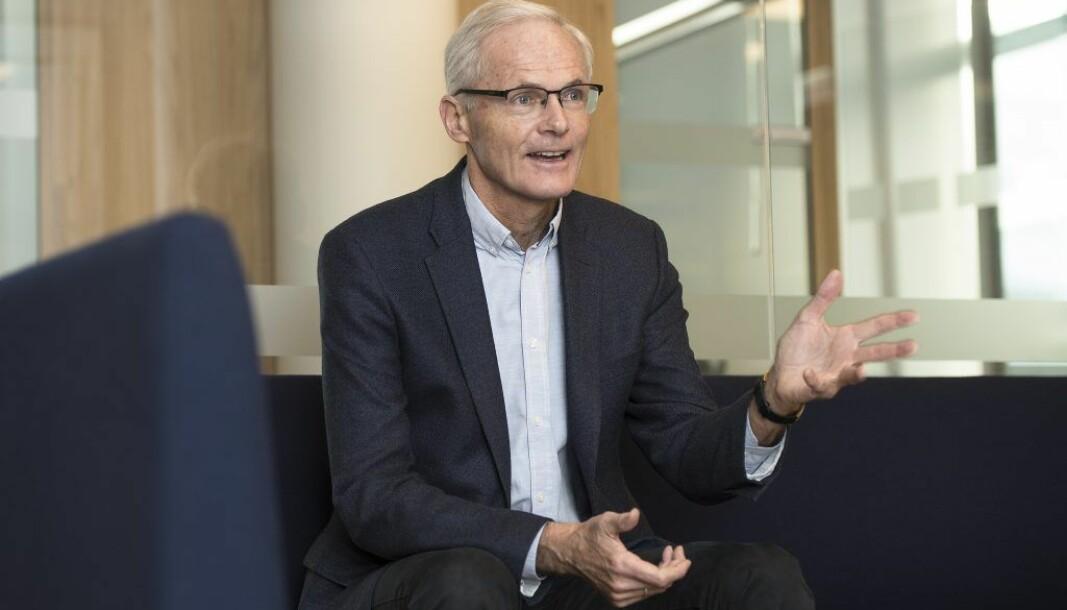 Konkurransedirektør Lars Sørgard er fast bestemt på at de norske konkurransereglene står seg godt.