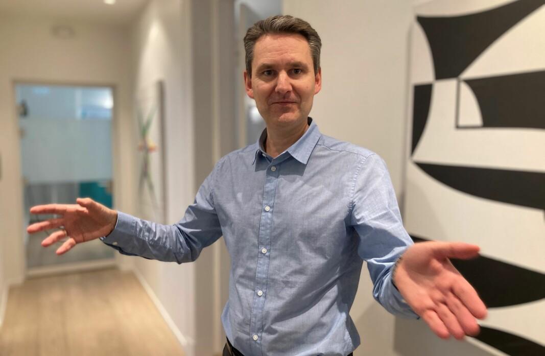 Harald Reinton, daglig leder i Heidrun Holding tror markedet for folkefinansierte eiendomslån er stort nok for ytterligere en aktør.