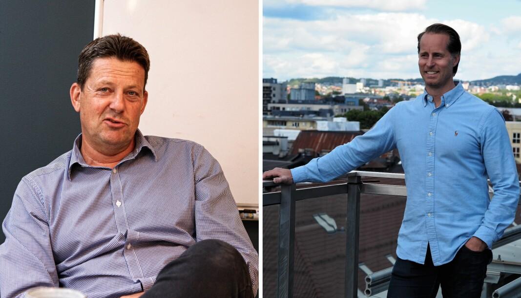 Andreas Bjerke, daglig leder i ZTL, og Andreas Bjerke, daglig lede ri Noenomics.
