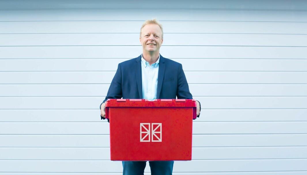 Geir Tellefsen, daglig leder i Flexistore.
