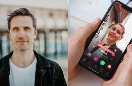 Schibsted utfordrer Tinder: Lanserer dating med BankID