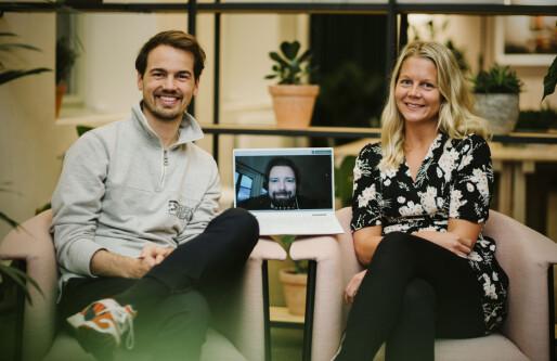 Kron doblet i koronaen: Topper laget med profiler fra Vipps og Kolonial.no, og utfordrer pensjonsgigantene