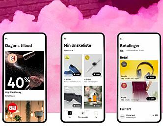 Klarna lager app for «sosial shopping»