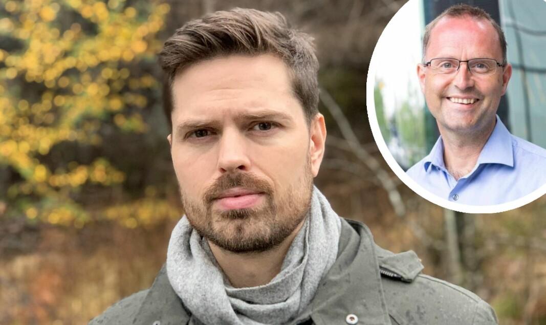 Alf Gunnar Andersen, daglig leder i Horde svarer Lars-Erik Fjørtoft, fintech-ekspert i PwC