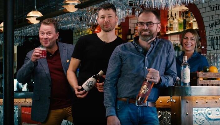 Kjerneteamet: (f.h.) Master blender Ivan Abrahamsen, product composer Rune Laugen og styremedlem Arne Hjeltnes deler en felles lidenskap for å skape de virkelig gode smaksopplevelsene.