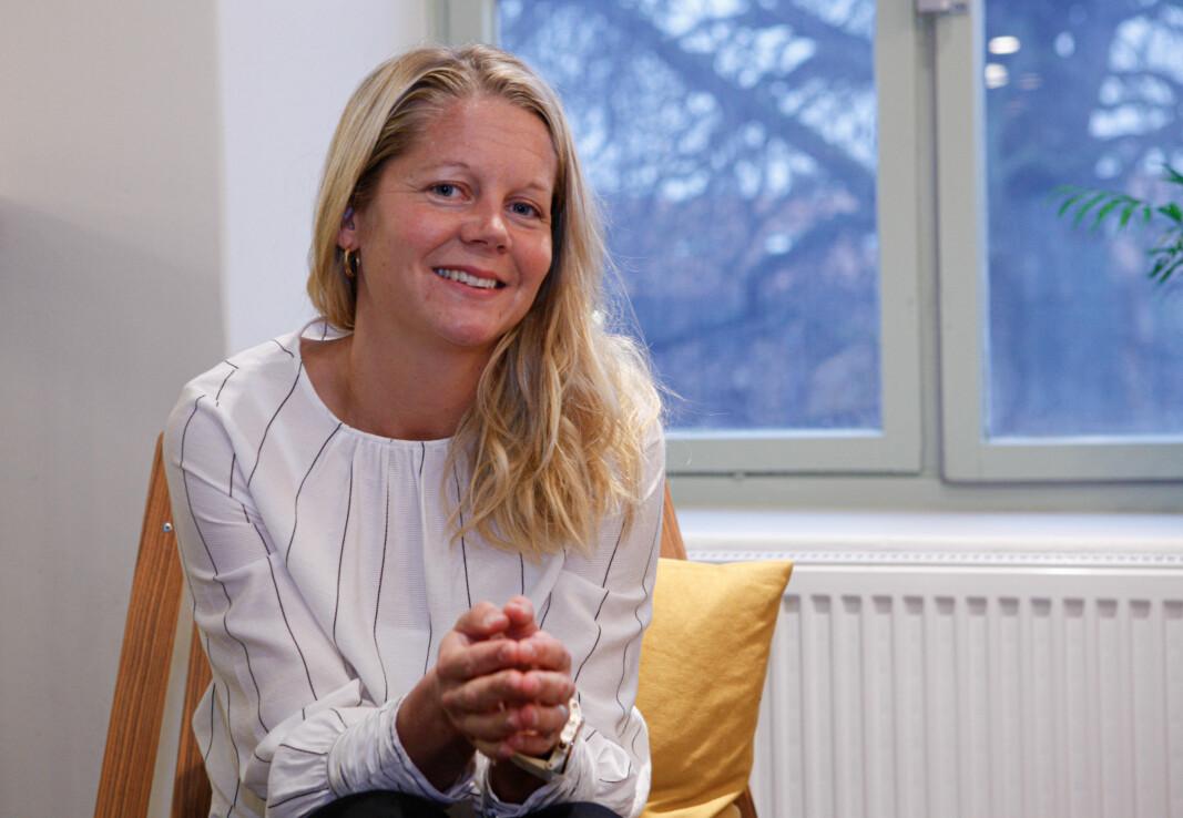 Emma Tryti kom inn i Kron som arbeidende styreleder i februar i år. Nå har hun tatt over som daglig leder.