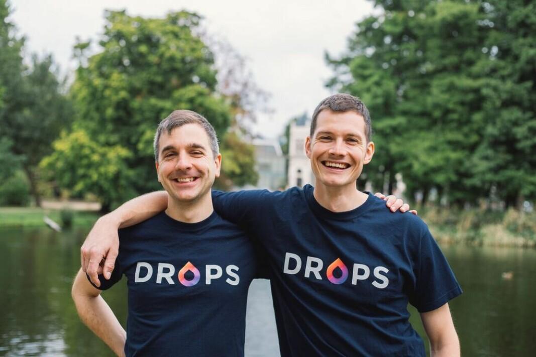 Drops-gründerne Mark Szulyovszky og Daniel Farkas.