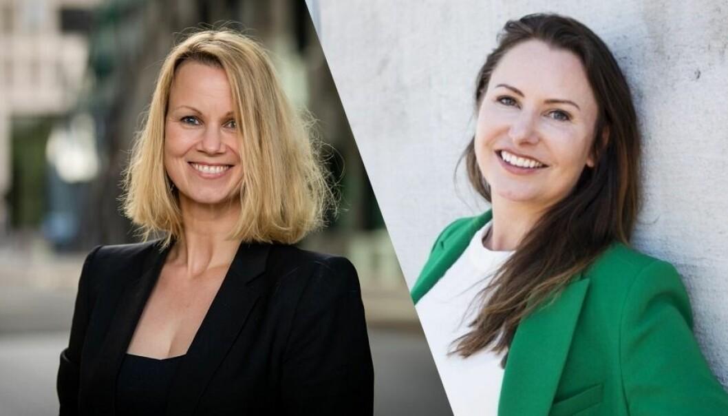 Aina Lemoen Lunde, merkevare- og markedsdirektør i DNB, har kommet til enighet med Heidi Aven, gründer av SHE Community.
