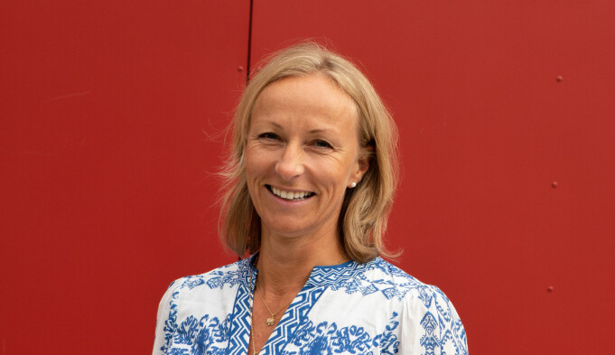 Administrerende direktør Stine Fiksdal i VIS.