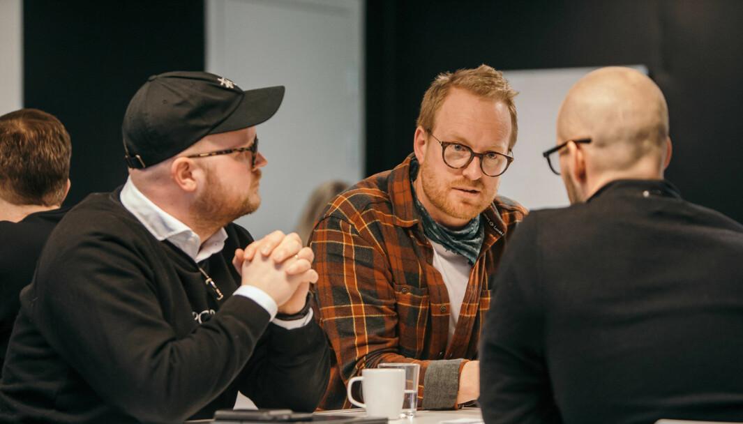 Voisey-gründerne Pål Wagtskjold-Myran og Erlend Drevdal Hausken.