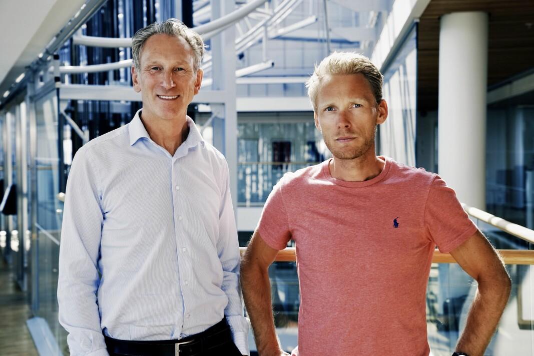 Håvard Lindtvedt og Carsten Werner i Nordea girer opp satsingen på «venture debt».