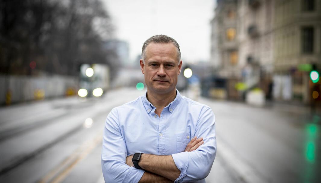 Administrerende direktør og gründer Henrik Müller-Hansen i Gelato.