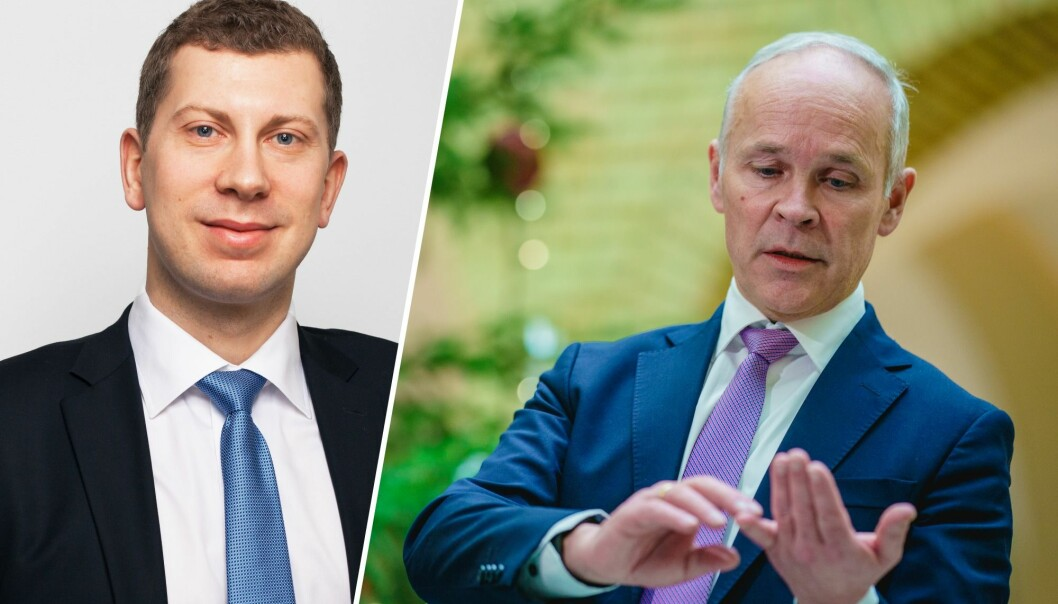 Advokat Daniel Høgtun i Advokatfirmaet Selmer mener Finansdepartementet må komme på banen etter at ny fortolkning i EU endrer den norske Skattefunn-ordningen.