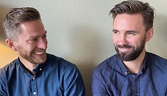 Dagfinn Edvarsen (t.v) og Anders Daniel Brekke i Really.