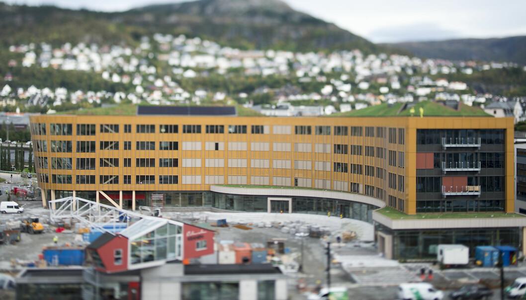 BKK flytter snart inn i Skipet, nytt konsernbygg i Bergen sentrum.