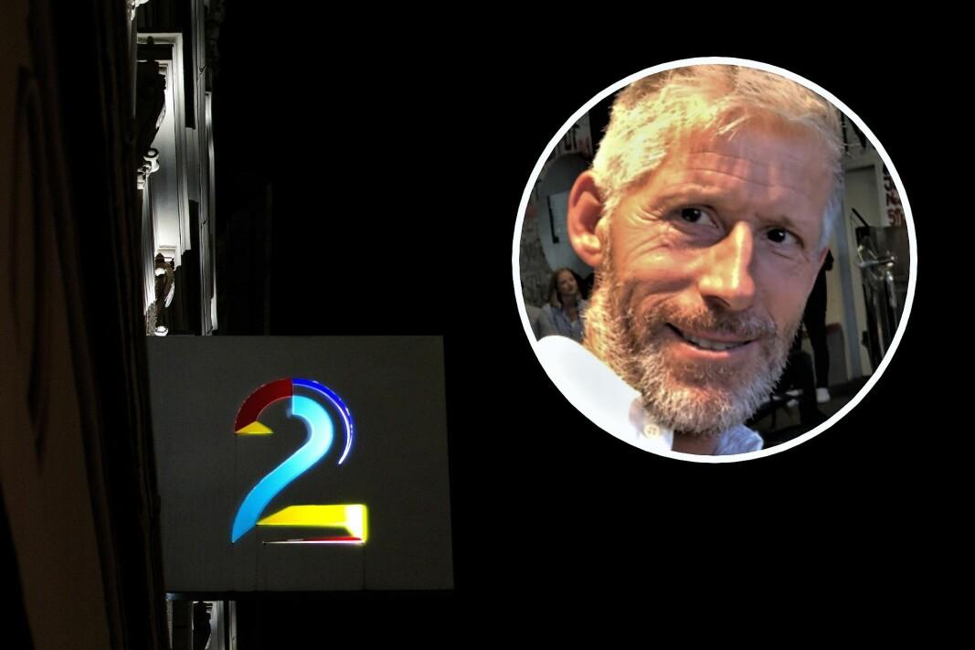 Leder av TV 2 Invest, Axel Dahl.