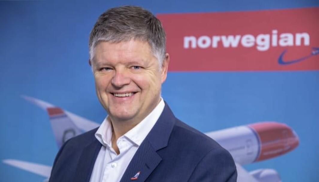 Jacob Schram, konsernsjef i Norwegian.