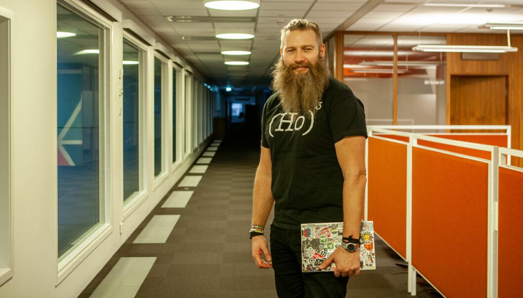 Yngvar Ugland, leder av DNB New Tech Lab.