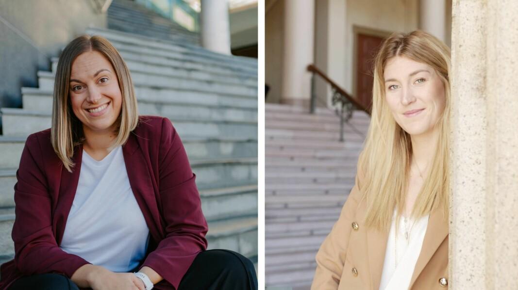 Stine Sofie Grindheim, daglig leder i Dealflow og Amalie Holt, kundeansvarlig i Folkeinvest kan se tilbake på en skikkelig rekordår for akjsjebasert folkefinansiering