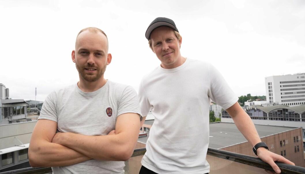 Arne-Morten Willumsen og Lasse Brurok (til høyre) i Bookis.