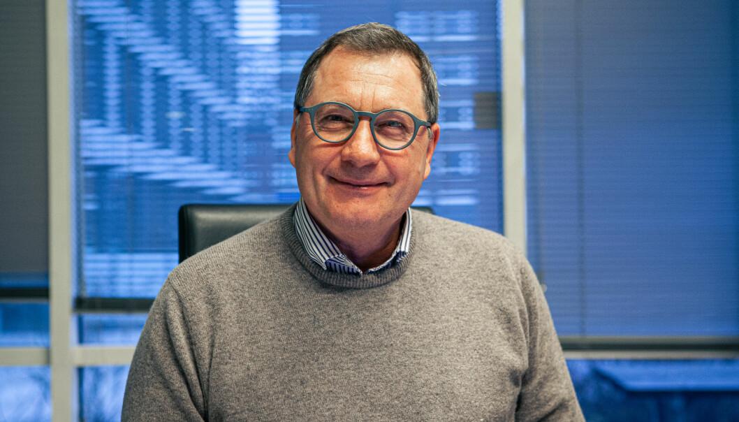 John E. Skajem administrerende direktør i Huddlestock gleder sig til at storkunden BNP Paribas endelig skal ta bruk løsningen som er basert på selskapets digitaliseringsplattform for depotbanker.
