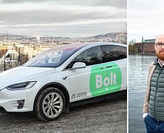Konkurransen i taximarkedet øker. Uber-konkurrenten Bolt i gang i Oslo