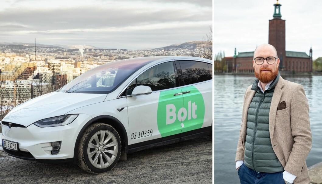 Regionssjef for Bolt i Nord-Europa, Nils Wijkmark.